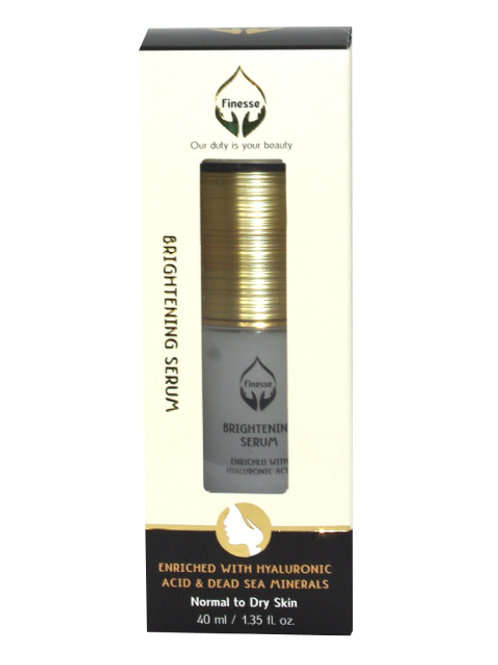 DEAD SEA BRIGHTENING SERUM - ENRICHED WITH HYALURONIC ACID