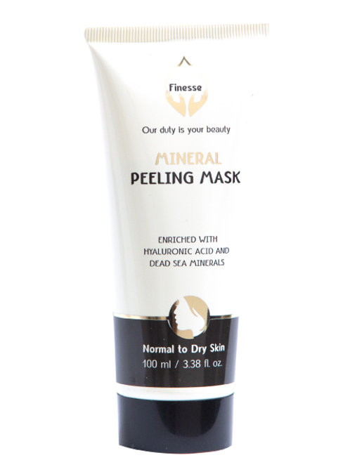 DEAD SEA MINERAL PEELING MASK - ENRICHED WITH HYALURONIC ACID