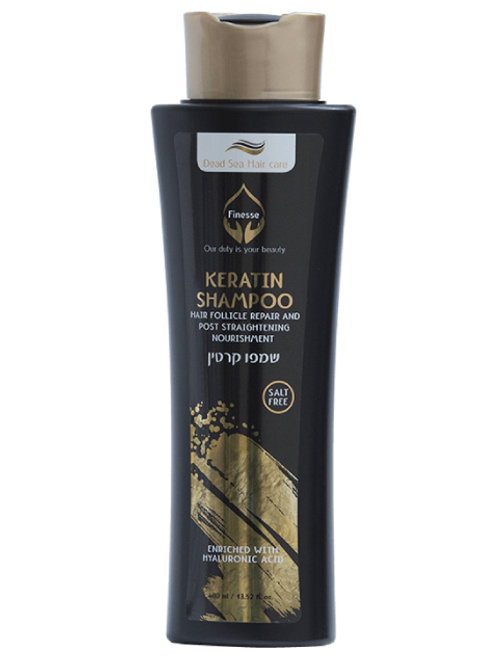 DEAD SEA HAIR FOLLICLE REPAIR AND POST STRAIGHTENING NOURISHMENT KERATIN SHAMPOO