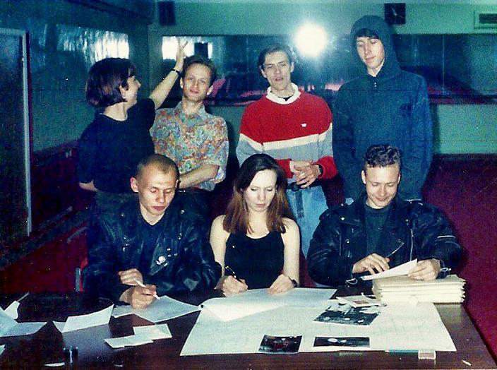 Arrival @ M-Radio 1992