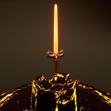 Dragon Sword - Final Render