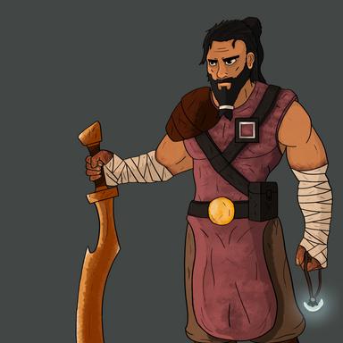 D&D Character - Human Fighter