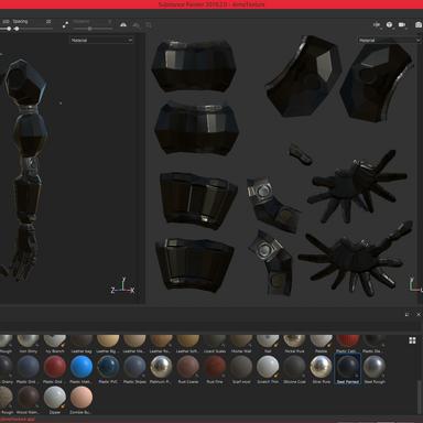 Arms - Final Textures