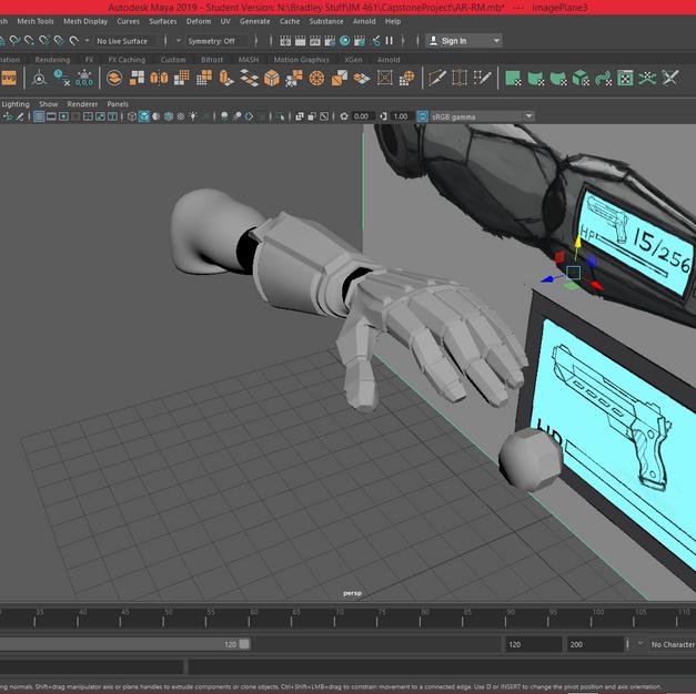 Cybernetic Arm - Initial Model
