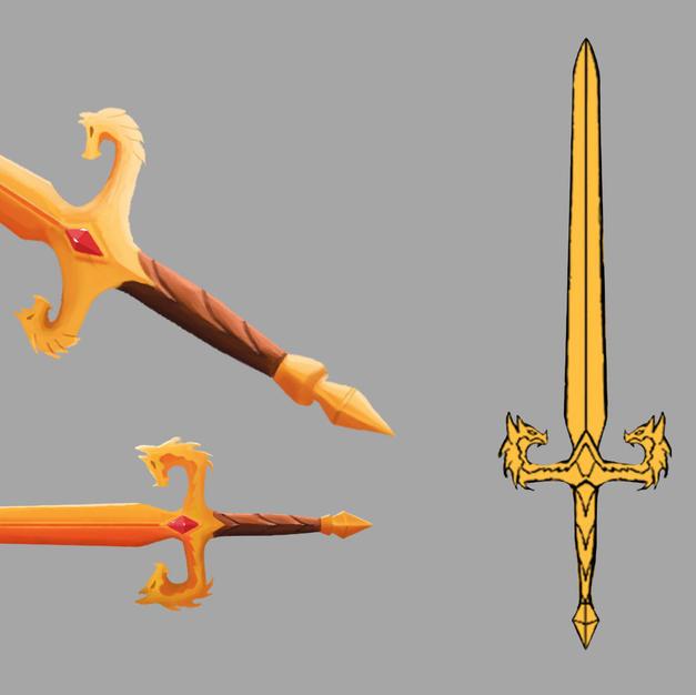Dragon Sword Concept - Final Phase