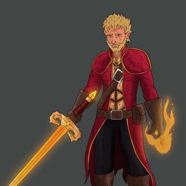D&D Character - Human Warlock