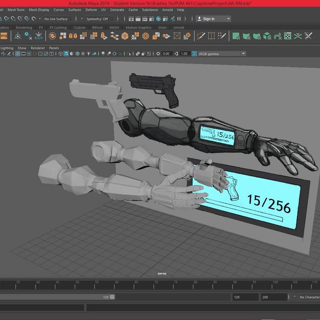 Cybernetic Arms - Base Model