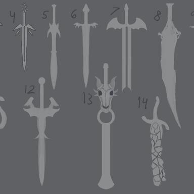 Dragon Sword - Ideation