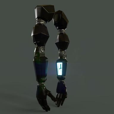 Cybernetic Arms - Final Renders