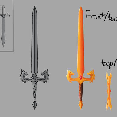 Dragon Sword Concept - First Phase