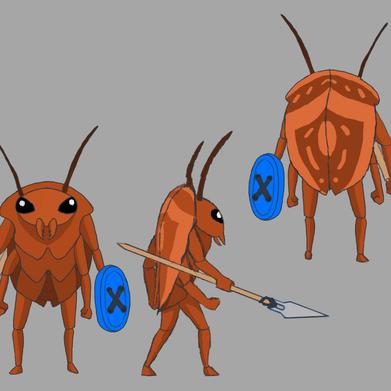 Roach Enemy Concept