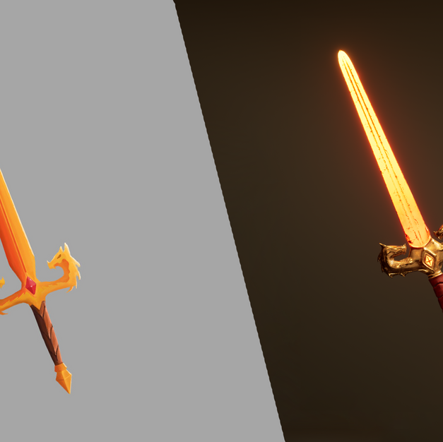 Dragon Sword - From concept, to creation