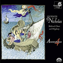 Legends of St. Nicholas: Medieval Chant and Polyphony, Anonymous 4