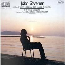 Tavener: Ikon of Light; Funeral Ikos; Carol: The Lamb, Tallis Scholars & Chilingirian String Quartet