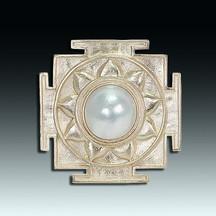 "Eve J. Alfillé, ""Sacred Geometries"" jewelry series"