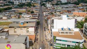 Centro comercial Padre Arnaldo Jansen em Ubá