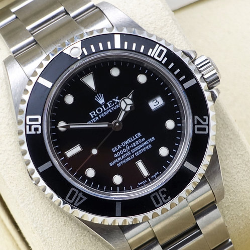 Gents Stainless Steel Rolex Oyster Perpetual Sea-Dweller 16600T Immaculate 2006