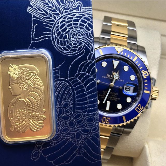 Rolex Submariner 116613LB Pamp Gold