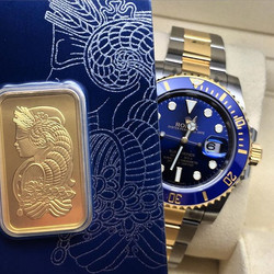 Rolex Submariner 116613LB Pamp Gold