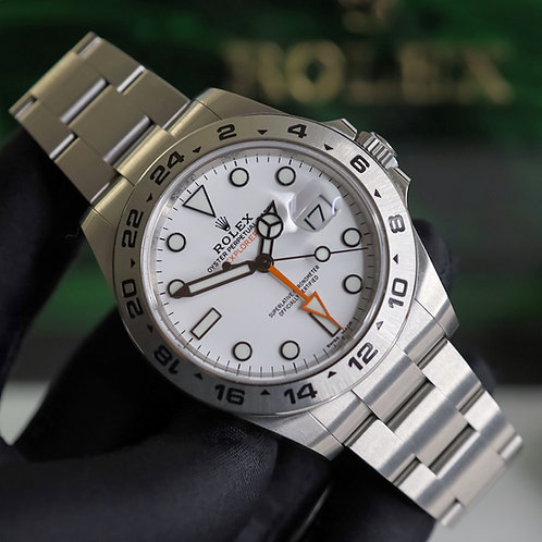 Gents Stainless Steel Rolex Oyster Perpetual Explorer II 216570 B & P 2019
