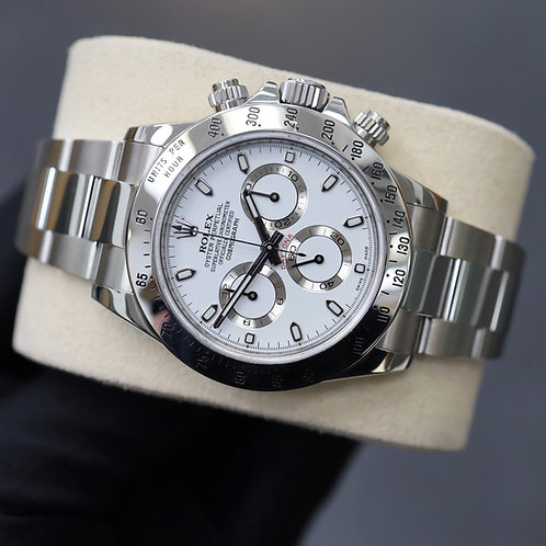 Stainless Steel Rolex Oyster Perpetual Daytona 2015 Complete With Box & Papers