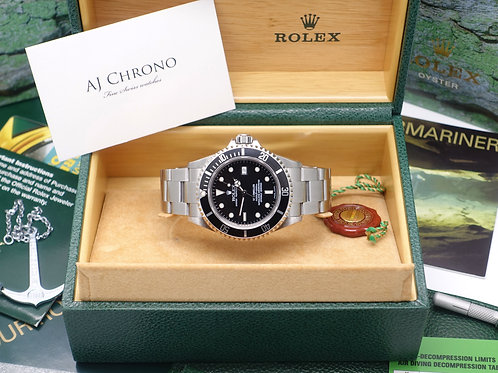Gents Stainless Steel Rolex Oyster Perpetual SeaDweller 16600T Immaculate 2004