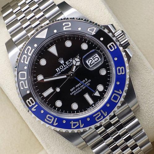 Unworn Gents Stainless Steel Rolex GMT-Master II 126710BLNR 'Batgirl'
