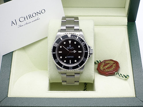 Gents Stainless Steel Rolex Oyster Perpetual Submariner Non Date 14060M