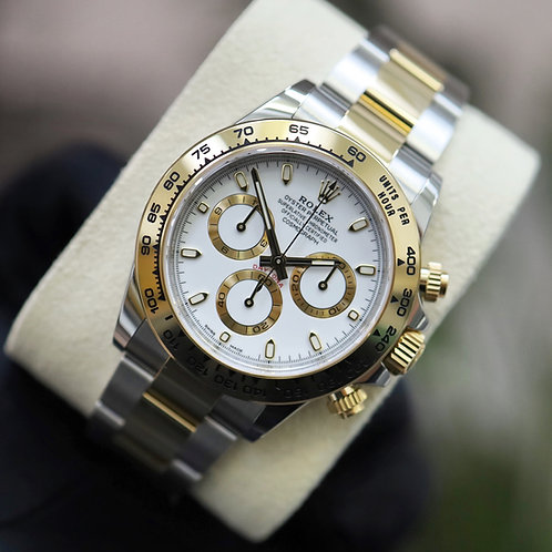 Unworn 2021 Gents stainless steel & 18ct Gold Rolex Oyster Perpetual Daytona