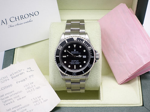 Gents Stainless Steel Rolex Oyster Perpetual Sea-Dweller 16600T Dated 2003