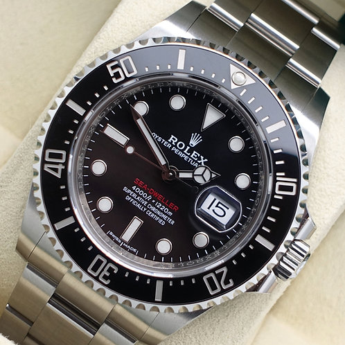 Gents Stainless Steel Anniversary Rolex Sea-Dweller 43 MK1 Complete With B&P