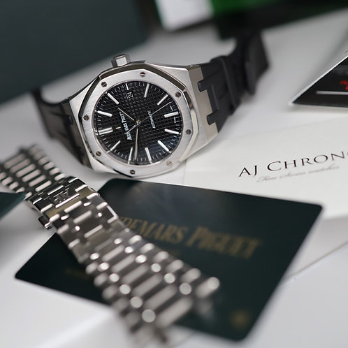 Stunning K Serial Full Set Audemars Piguet Royal Oak 15400ST Stainless Steel