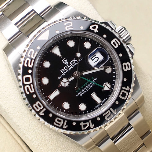 Gents Stainless Steel Rolex GMT-Master II Complete With Box & Papers 2018