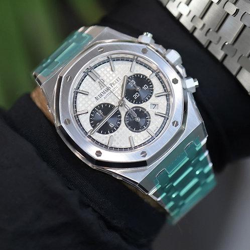 2020 Unworn Factory Sealed Audemars Piguet Royal Oak Chronograph Panda