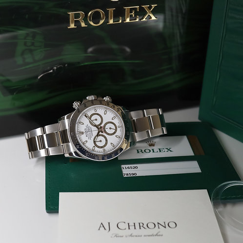 Final Production 'APH' Dial Stainless Steel Rolex Oyster Perpetual Daytona