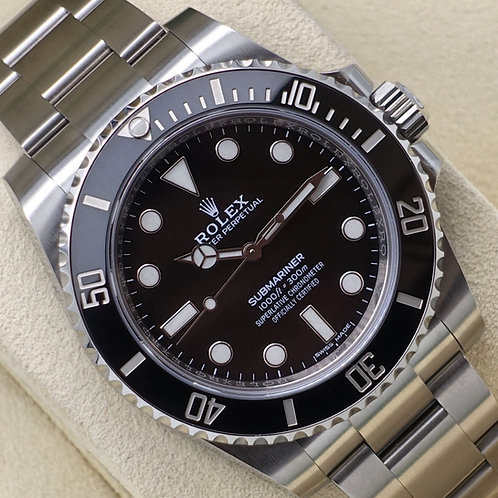 Stainless Steel Rolex Oyster Perpetual Submariner Non Date Box & Papers 2019