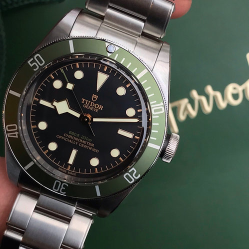 Unworn 2019 Harrods Tudor Black Bay Complete With Box& Papers