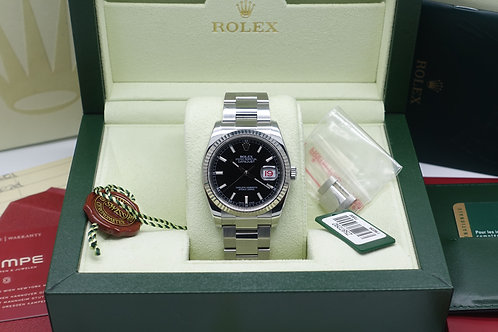 Gents Full Set Rolex Oyster Perpetual Datejust 116234 Wempe London 2007