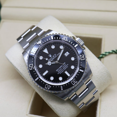 Discontinued Stainless Steel Ceramic Rolex Oyster Perpetual Seadweller 4000