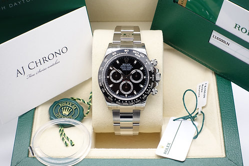Factory Sealed Rolex Oyster Perpetual Daytona 116500LN 2016 First Production