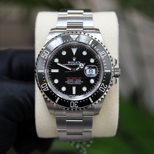 Unworn Factory Sealed Rolex Sea Dweller 43 Anniversary Complete With Box & Paper