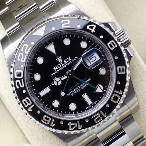 Unworn Factory Sealed Final Production Steel Rolex GMT-Master II 116710LN