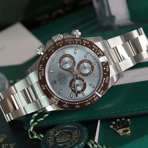 Factory Sealed Rolex Oyster Perpetual Daytona 116506 2019 Ice Blue Dial