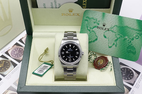 Gents Stainless Steel Rolex Oyster Perpetual Explorer 114270