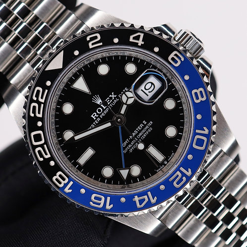 Gents Stainless Steel Rolex GMT-Master II 126710BLNR 'Batgirl' Box & Papers