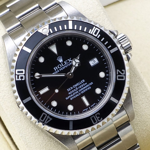 Gents Stainless Steel Rolex Oyster Perpetual Sea-Dweller 16600T Dated 2006