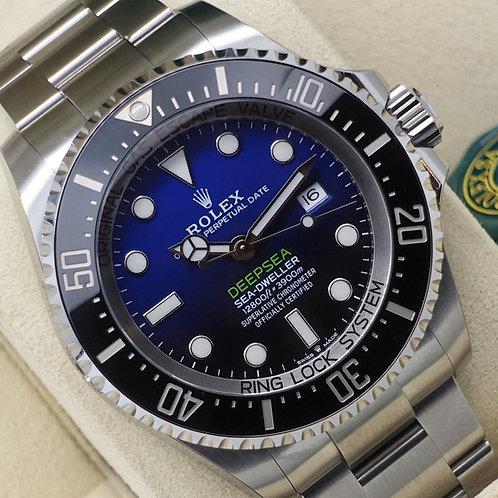 Unworn Sealed 2019 Stainless Steel Rolex James Cameron Deepsea D-Blue Dial