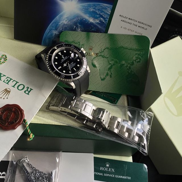 Rolex Steel Submainer 16610