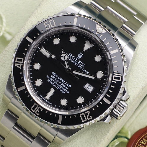 Discontinued Stainless Steel Ceramic Rolex Oyster Perpetual Seadweller 116600