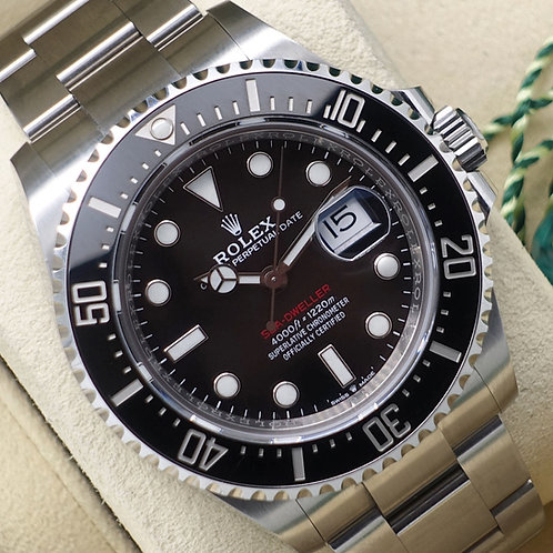 2019 Anniversary Stainless Steel Rolex Sea-Dweller 43 126600 MK2 Box & Papers